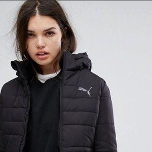 Puma down winter puffer jacket